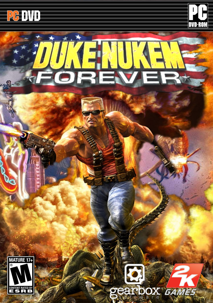 Image result for Duke Nukem Forever cover pc